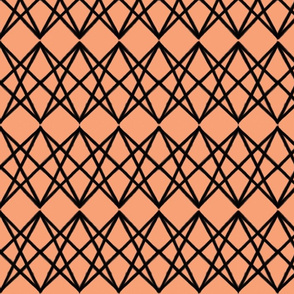 Overpass Stripe - Peach