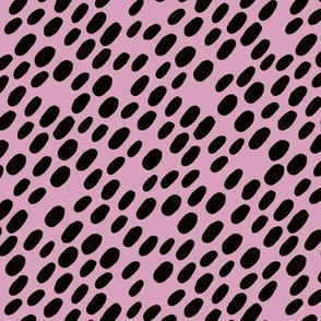 Animal dalmatian skin spots and dots scandinavian style design abstract circle black purple