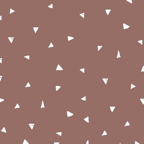 Cool geometric triangles mini abstract scandinavian sprinkle theme fall