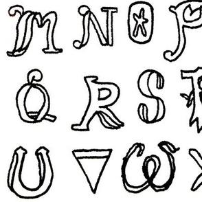 Alphabet Typo