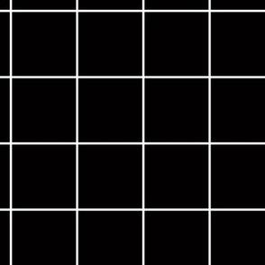 Citymap Grid - Black/White