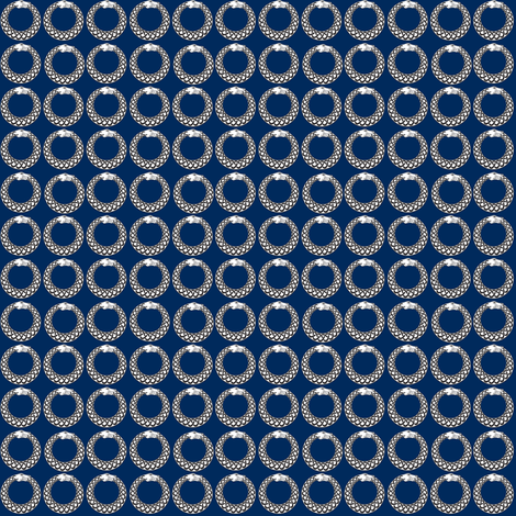 The Corsair Whovian fabric by janinez on Spoonflower - custom fabric