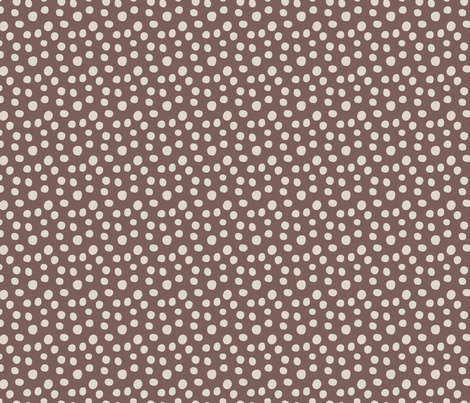 Dots Fig fabric by fernlesliestudio on Spoonflower - custom fabric