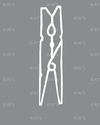 clothespin on slate grey