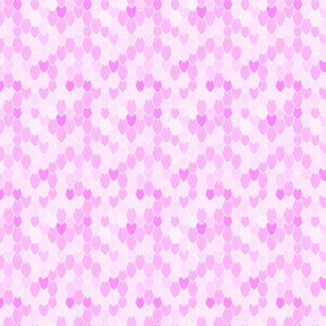 Mermaid Scales Anenome Pale Pink II, Mini