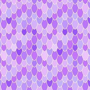 Mermaid Scales Purple Anenome