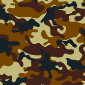 Brown Camouflage pattern