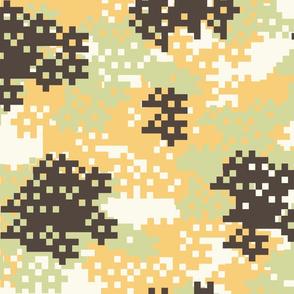 Pixel Desert Camouflage pattern