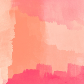Modern Blush & Pink Painterly Abstract Art