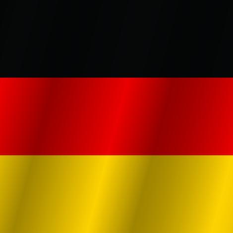 Flag of Germany fabric by artpics on Spoonflower - custom fabric