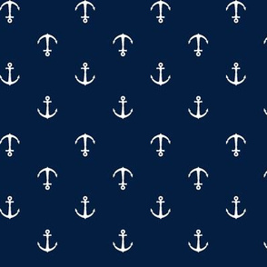Anchors || navy