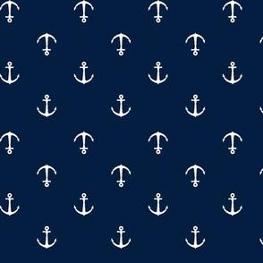 Anchors || navy
