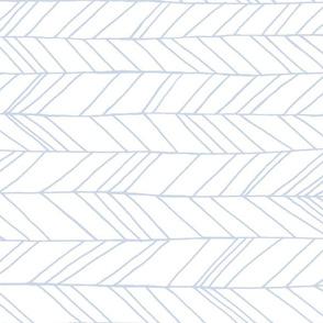Featherland White/Blue (LARGE) rotated