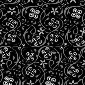 Silver Garden // Stardust Grey/Onyx