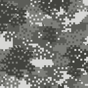 Pixel Urban Camouflage pattern