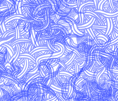 Layered Hand-drawn Swirls fabric by em_birdie on Spoonflower - custom fabric