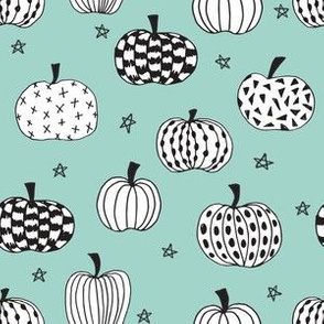 pumpkin // pumpkins halloween fall mint october kids halloween fabric for halloween projects kids