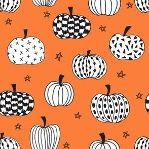 pumpkin // pumpkins halloween orange kids october fall kids baby pumpkins hand-drawn illustration