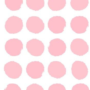 dots pink pale pink pastel pink girls nursery cute dots for nursery