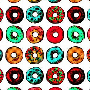 Pop Art Donuts