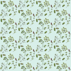 Herb Pattern Small