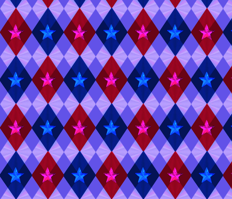 Sexy Rocker Argyle fabric by landimonk on Spoonflower - custom fabric