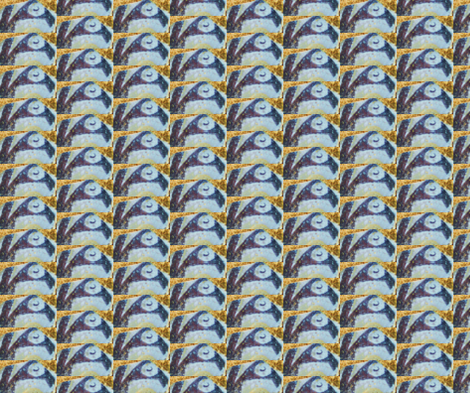 Penguin Migration fabric by ktd on Spoonflower - custom fabric