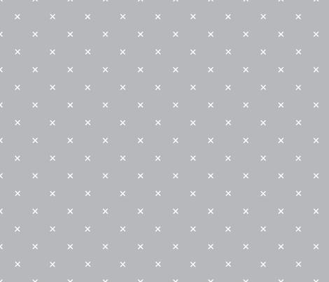 X // Pantone 179-5 fabric by ivieclothco on Spoonflower - custom fabric