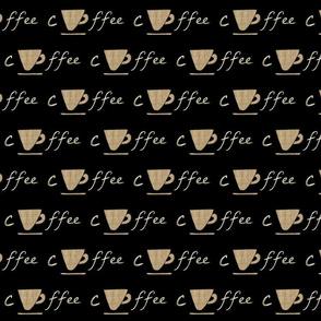Cup of coffee - vintage latte
