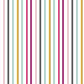 Whimsical Stripes - Vertical