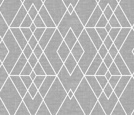 Grid Texture  gray fabric by kimsa on Spoonflower - custom fabric