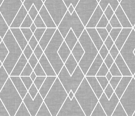 Grid Texture  gray fabric by kimsa on Spoonflower - custom fabric