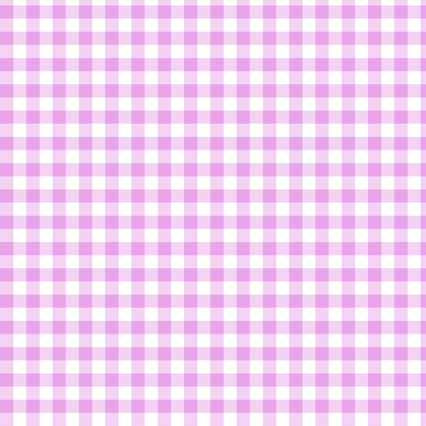 pale orchid gingham fabric by weavingmajor on Spoonflower - custom fabric