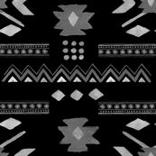 Aztec Print in Black