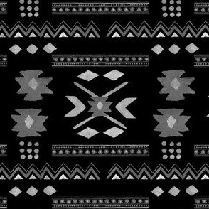 Aztec Print in Black
