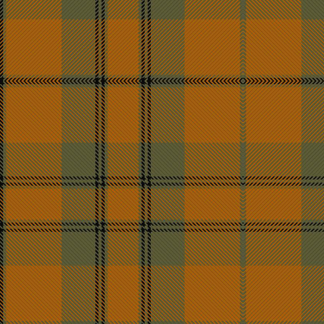 Donachie Ancient Hunting Tartan // Small fabric by thinlinetextiles on Spoonflower - custom fabric