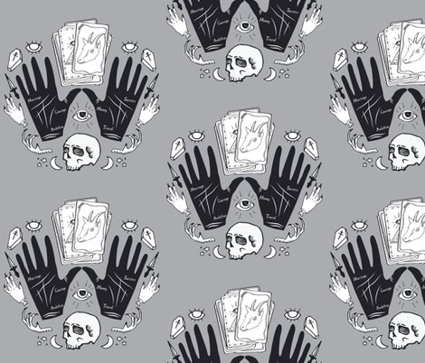 Rcurses_and_spells_damask_black_and_gray_shop_preview