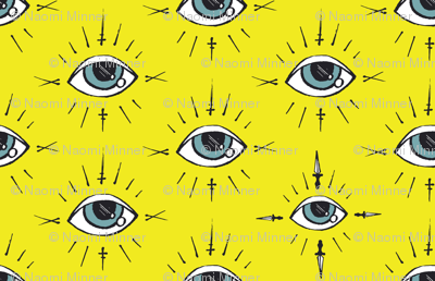 Curses and Spells Eyes Black and Yellow