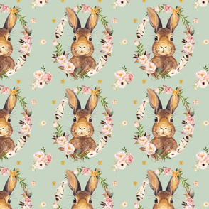"""7"""" Some Bunny Loves Me - Minty Green"""