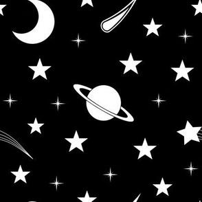 Starry Black Sky