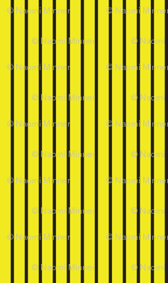 Curses and Spells Stripes Black and Yellow