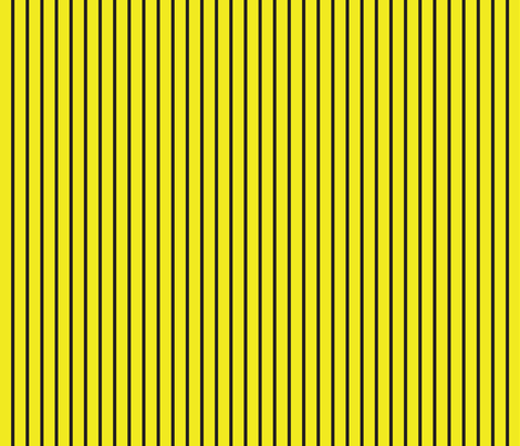 Curses and Spells Stripes Black and Yellow fabric by bella_modiste on Spoonflower - custom fabric