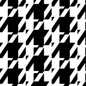 Black &White Houndstooth