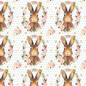 Some Bunny Loves Me Polka Dots Minty
