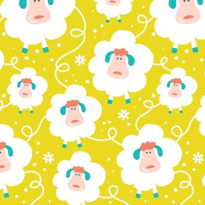 Baa Baa Baby - Happy Sheep Nursery