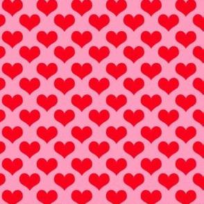 heart coordinates pink