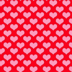heart coordinates  red