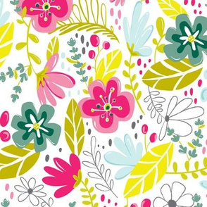 Wild Flower - Modern Floral