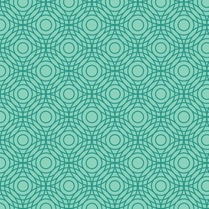 Optical Circles in Aqua