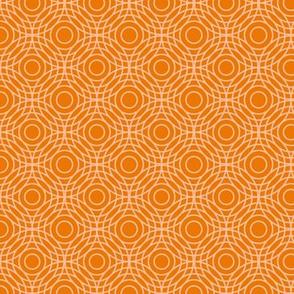 Optical Circles in Orange